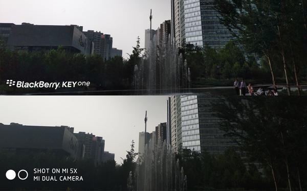 小米5X与黑莓KEYone 哪个才是拍照利器