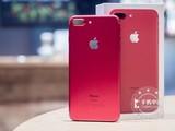 苹果iPhone 7 Plus中国红128G仅6580元
