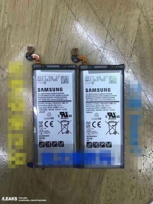 被曝光的三星Note8电池