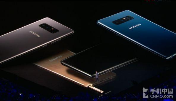 三星Note8共有四种配色