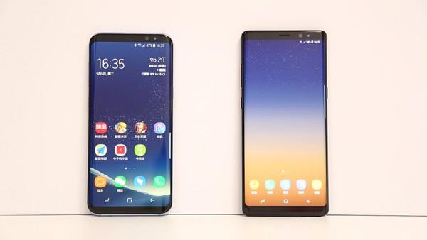三星S8+和Note 8