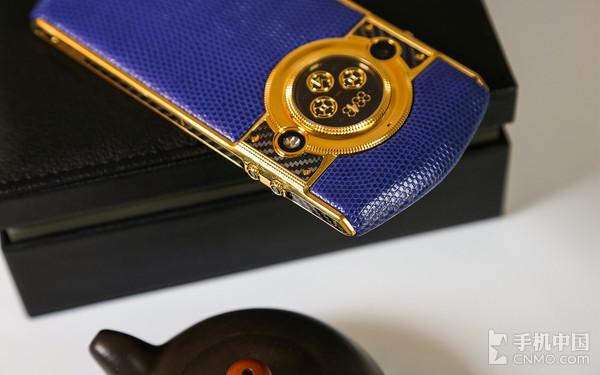 8848钛金手机M4手机背部