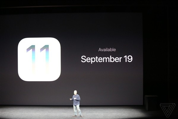 iOS 11正式版9月19日放出 支持设备一览