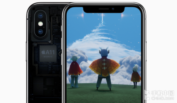 iPhone X采用A11仿生芯片