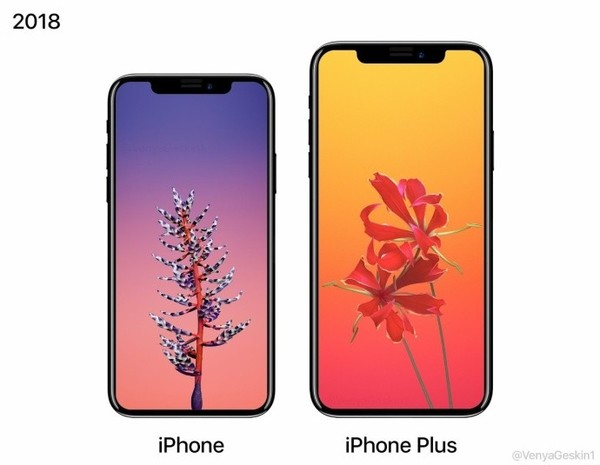 iPhone X Plus首度曝光