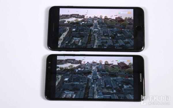 5.9英寸全面屏,能够带给用户更宽广的的视频观看体验