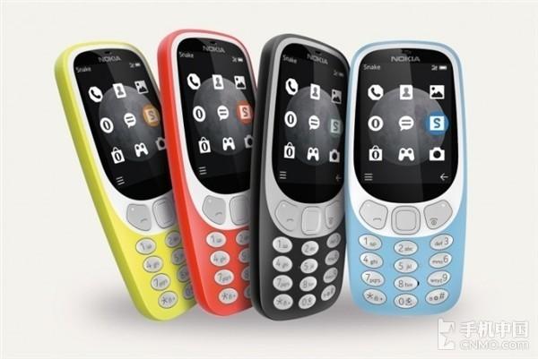 诺基亚3310 3G复刻版