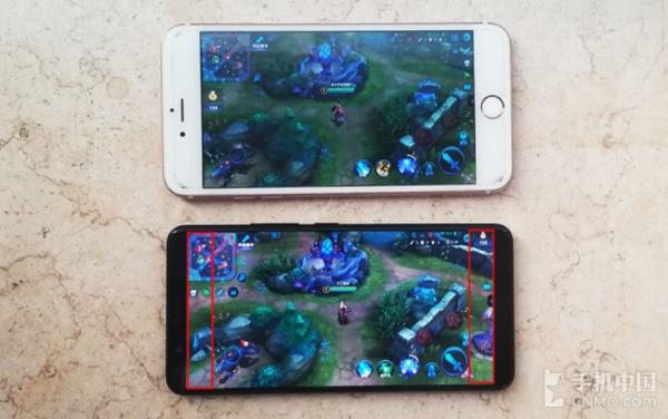 vivo X20全面屏相比于传统手机,显示视野更宽阔