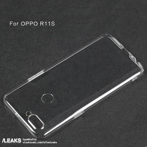 OPPO R11s手机壳遭曝光 后置双摄加指纹