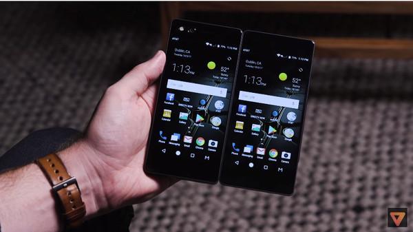 中兴Axon M双屏手机(镜像模式)