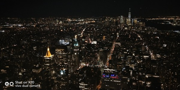 带上vivo X20 记录下曼哈顿岛的深秋之美