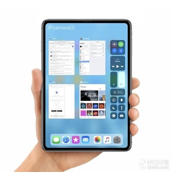 搭载Face ID的iPad mini渲染图