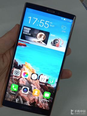 金立新机无线充电功率曝光 iphone x低头