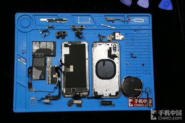 iphone x拆机解析 双电芯设计引领新方向