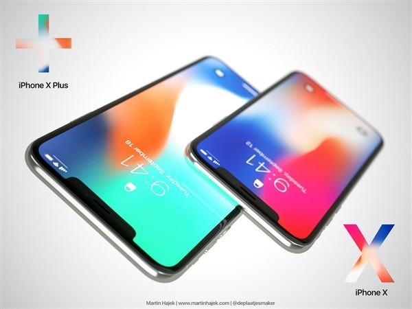 iPhone X Plus渲染图亮相 6.4英寸巨屏爽