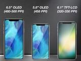 明年苹果将以iPhone X为模板发三款新品