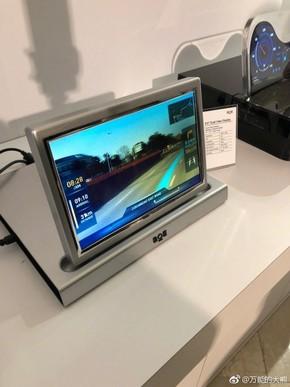 奔驰SPLITVIEW显示技术
