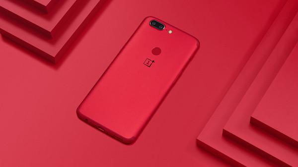 一加5T熔岩红