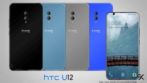 HTC U12曝光 4K屏幕/3.5mm耳机回来了