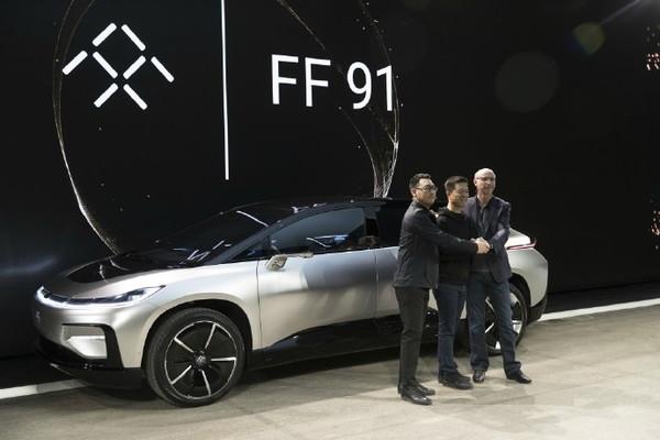 法拉第FF91(图片来自网络)