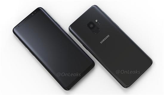三星Galaxy S9/S9+(图片引自爆料大神Onleaks)