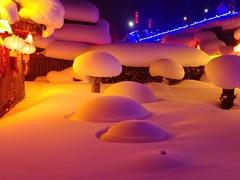 把时间装进罐头 一加5T的冬季雪乡游记