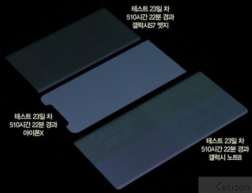 OLED烧屏大测试 iPhone X居然表现最好?