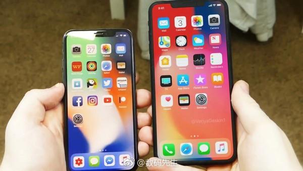 网传6.5英寸iPhone X