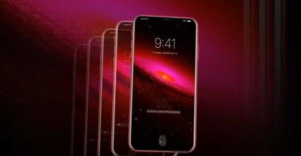 网友设计的iPhone 8 Plus红色特别版渲染图(图片来自网络)