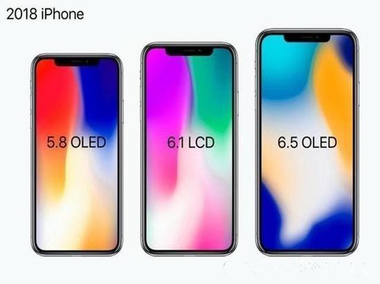 苹果今年或推3款新iPhone X