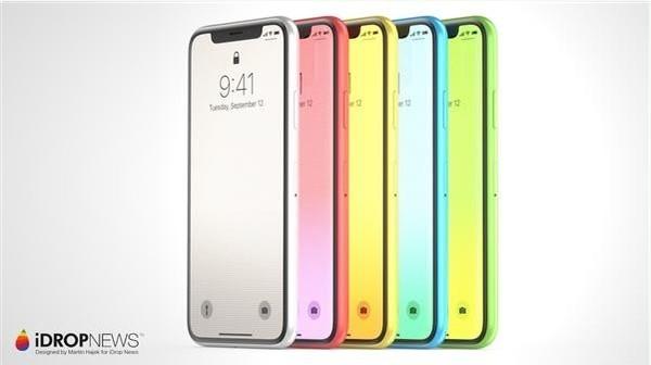 网传廉价版iPhone X渲染图