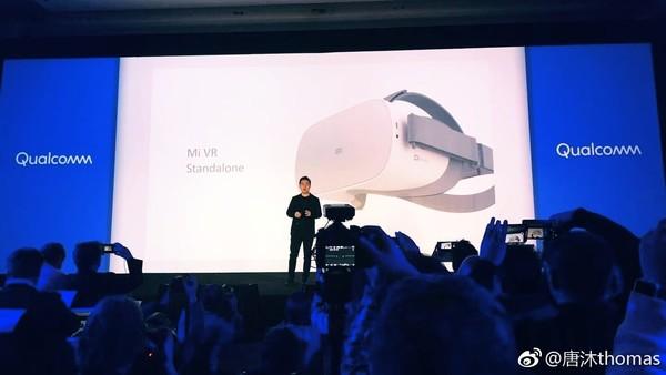 小米VR一体机CES2018发布会现场