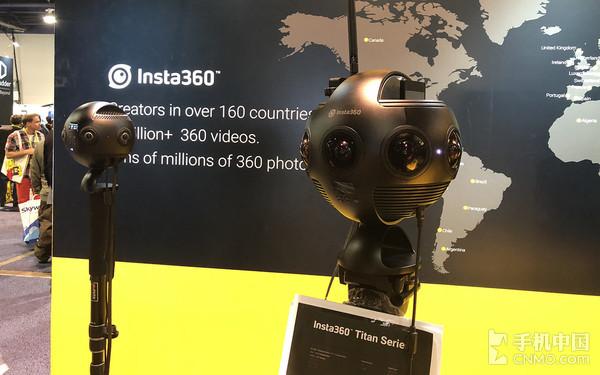 """CES Insta360 推出能""""打电话""""的全景相机"""