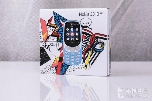 小而美的情怀手机 诺基亚3310 4G版本图赏