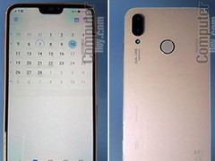 华为P20 Lite真机现身 刘海美过iPhone X
