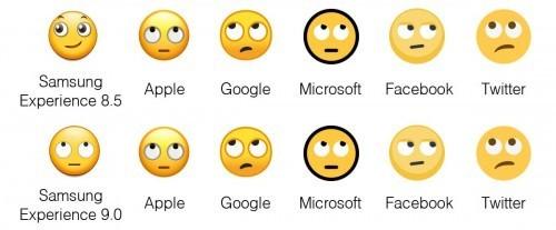 """三星Experience系统的""""白眼""""表情与其他不同"""