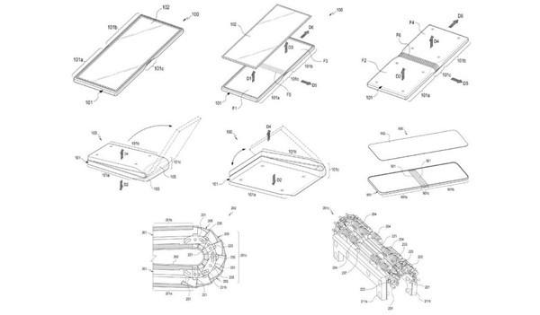 最新公布的专利设计图