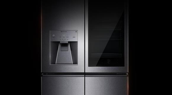 LGInstaView ThinQ智能冰箱(图片来自网络)