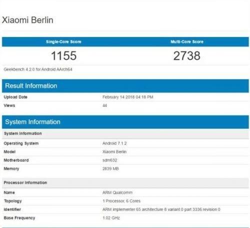 """小米新机""""Berlin"""""""