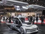 奥迪电动AI智能汽车公布:秒变直升机