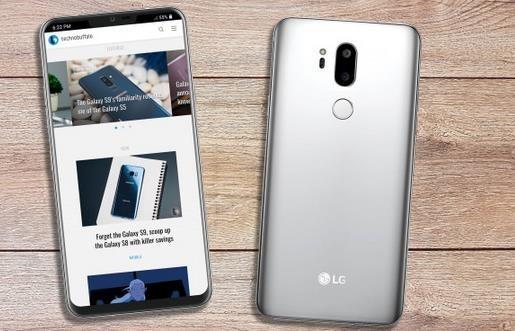 LG G7渲染图(图片来自网络)