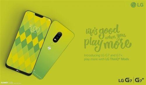 LG G7海报