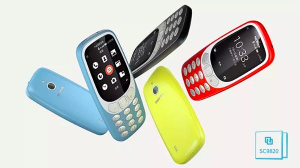 诺基亚3310 4G版将至