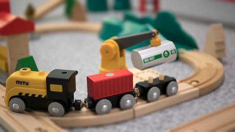 重拾童年乐趣 米兔轨道积木套装拼装