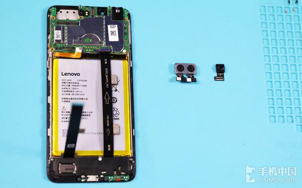 Lenovo S5的前后摄像头