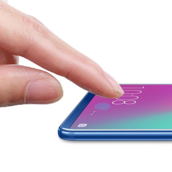 荣耀10疑似采用屏下指纹识别技术