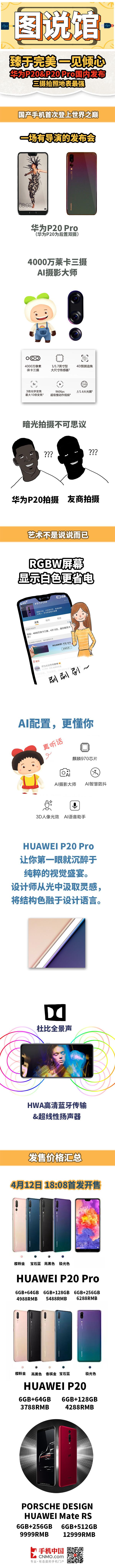 图说馆:华为P20 Pro发布 三摄一见倾心