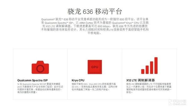 骁龙636移动平台