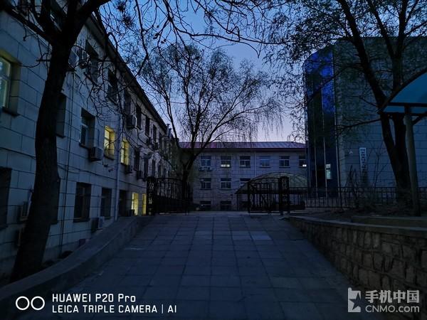 HUAWEI P20 Pro夜景