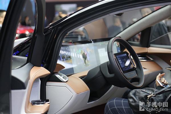 全面屏汽车 BYTON Concept国内首秀